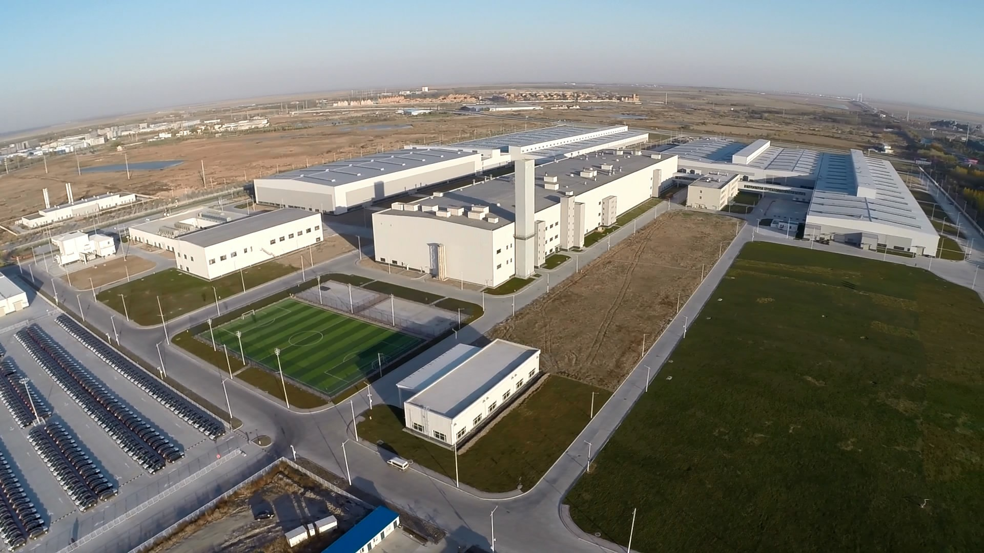 The Volvo Cars manufacturing plant in Daqing, China