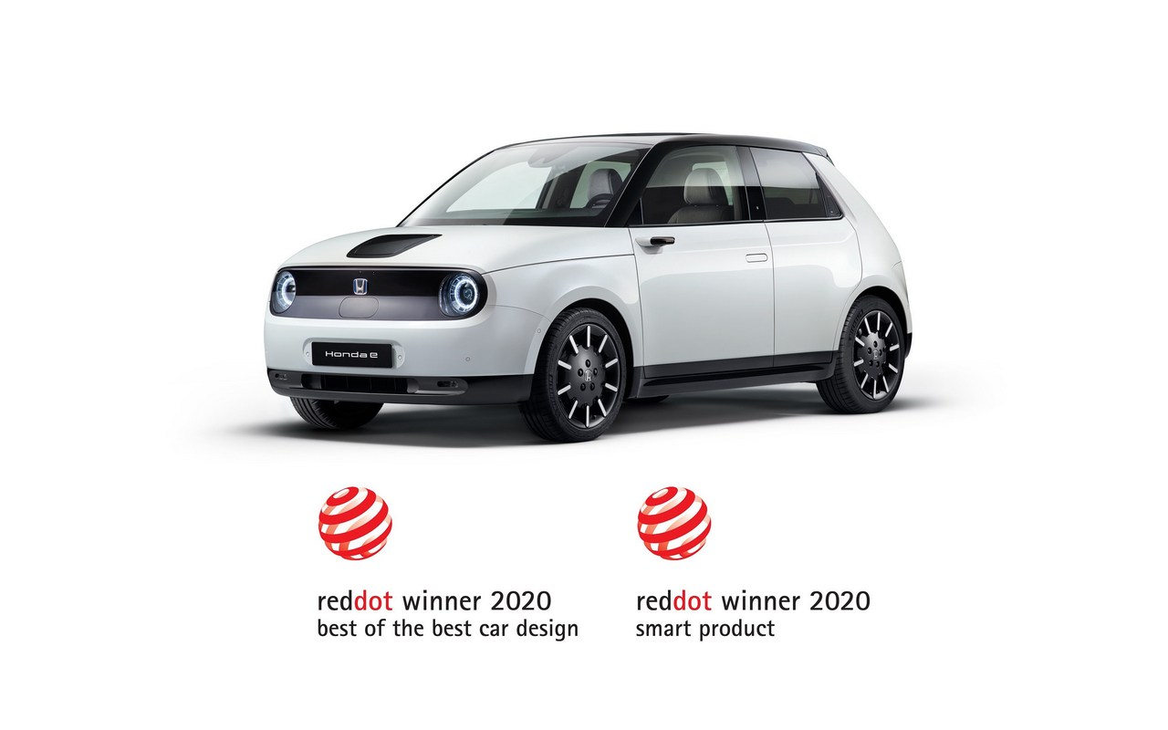 HONDA WINS THREE RED DOT DESIGN AWARDS, INCLUDING 'BEST OF THE BEST' FOR HONDA E